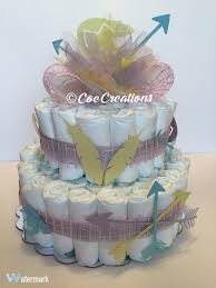 Baby Shower Diaper Cake American Indian Theme Facebook