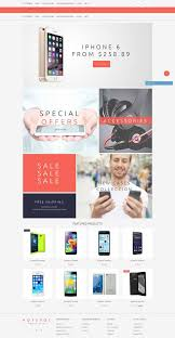 Free OpenCart Theme For Mobile Shop
