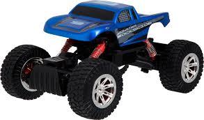 100 Radio Control Monster Truck Sharper Image Rockslide Blue 1003841 Best Buy