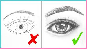 DOs DONTs How To Draw Realistic Eyes Easy Step By