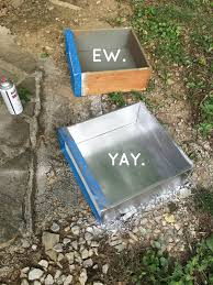 Tool Box Dresser Diy by Love This Diy Idea Spray Paint The Insides Of Old Dresser