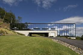 100 Houses In Nature Reflective Glass House Becomes One With