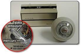 does your thermostat mercury local hazardous waste