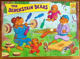 Berenstain Bears Christmas Tree 1980 by Berenstain Bears Jigsaw Puzzles U2013 Berenstain Bears Bibliography U0026 Blog