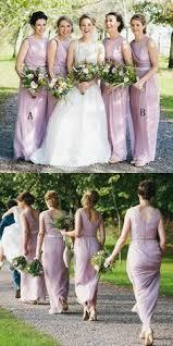 2018 Halter Custom Chiffon Long Black Bridesmaid Dresses WG225