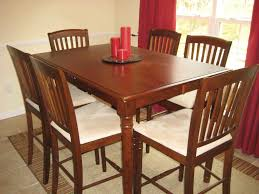 Dining Room Cheap Tables White Country Style Chairs Yellow Flower Vases And Gray Carpet For Small