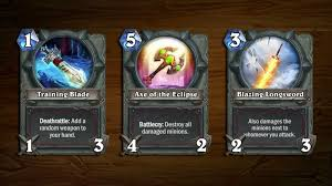 new cards coming to hearthstone arena courtesy of blizzcon