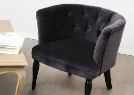 siege capitonné fauteuil cabriolet capitonné velours meubles et décoration