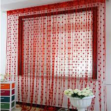 Beaded Curtains For Doorways Ebay by Cute Heart Line Tassel String Door Curtain Window Room Curtain