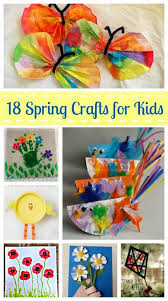 A Glimpse Inside 18 Fun Spring Crafts for Kids