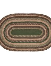 Green Jute Rug by Barrington Jute Rug Oval 36x60 Primci Country Rugs