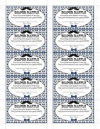 Illinois Halloween Raffle 2017 by Printable Diaper Raffle Tickets Baby Shower Instant Download