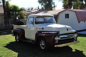 Custom 1956 Ford F100 Pickup Truck 302 / C6 Ps Pb Ac All Steel Rm Sothebys 1956 Ford F100 Pickup Hershey 2018 Fast Lane Classic Cars Streetside Classics The Nations Trusted Hot Rides Pinterest Trucks And Trucks Panel Truck That Looks Like A Rundown Old But Isn Lost Wages Custom Vintage Stock Photos Interior Franks Rods Upholstery 31956 Archives Total Cost Involved