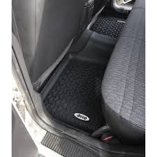 Rugged Ridge DMC-12950.19 Floor Liners, Rear, Black, Jeep Logo, 84 ... Rugged Ridge All Terrain Floor Liners Bizon Truck Accsories Weathertech Custom Fit Car Mats Speedy Glass 22016 Ford Expedition Husky Whbeater Front Mats Gallery In Connecticut Attention To Detail Weathertech Digalfit Free Shipping Low Price Sharptruckcom Buy 444651 1st Row Black Molded Nissan Xterra 2005 Heavy Duty Toyota