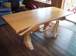 Homemade log furniture plans