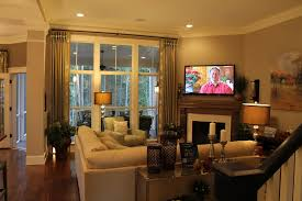 Living Room With Fireplace by How To Decorate A Rectangular Living Room With Corner Fireplace