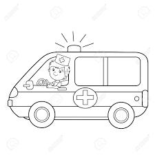Ambulance 31 Transport Coloriages à Imprimer