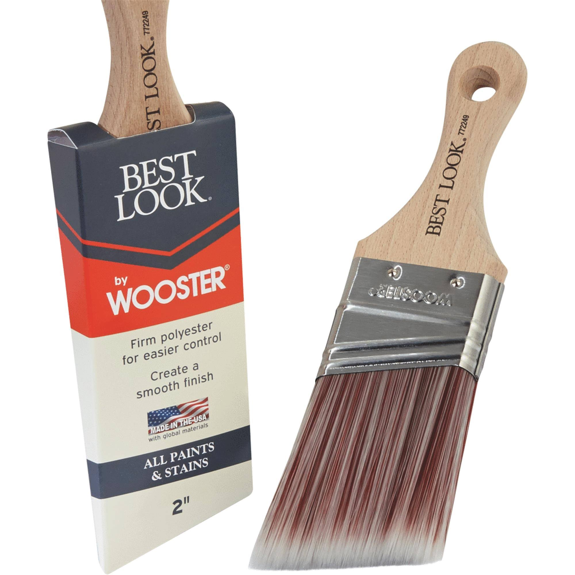 "Wooster Brush 2"" Short A/S Paint Brush D4023-2"