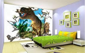 3d Wallpaper Custom Mural Jurassic Dinosaurs Background Wall Painting Photokids Room Decor