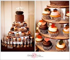 MODelicious A Rustic Farm Themed Wedding Cupcake Tower