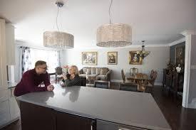 Kitchen And Bathroom Renovations Oakville by Oakville Backsplit Renovated As A Son U0027s Labour Of Love Toronto Star