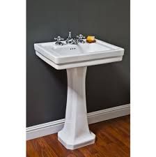 18 Inch Width Pedestal Sink by Bathroom Sinks Pedestal Bathroom Sinks General Plumbing Supply