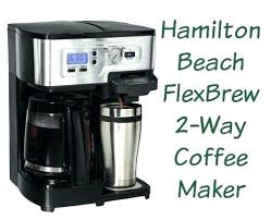 Hamilton Beach Coffee Makers Instructions Manual 2 Way Maker Review Giveaway