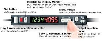 Keyence Light Curtain Manual Pdf by Dual Digital Display Fiber Optic Sensors Fs V20 Series Keyence