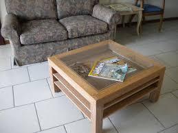 couchtisch aus holz und glas auszugböden für wohnzimmer