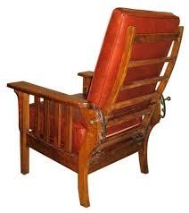 Gustav Stickley Adjustable Back Chair