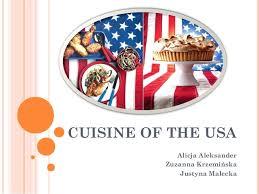 cuisine of the usa