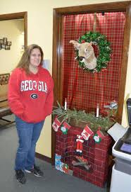 Christmas Cubicle Decorating Contest Flyer by Grinch Christmas Door Decorating Contest