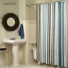 Blue Vertical Striped Curtains by Shower Curtains At Target Shower Curtains Burnt Orange Shower