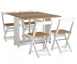 Seconique Santos Butterfly Folding Dining Set