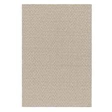 urbanara teppich overod 100 woll baumwoll mischung hellgrau eierschale im geometrischen design 140 x 200 cm moderner woll teppich fürs