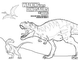 Free Printable Walking With Dinosaurs The Movie Coloring Pages Activity Sheets Dinosaur Bones Online