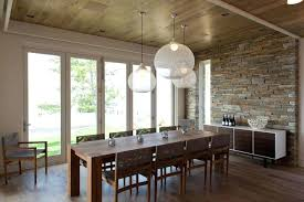 stylish lighting above kitchen table and kitchen table light