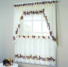 wine themed kitchen curtains with grape tier and valance set
