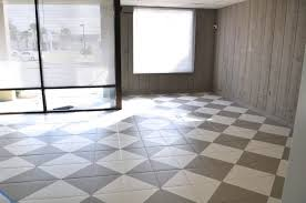 painting floor tile inspiration easy and economical kitchen