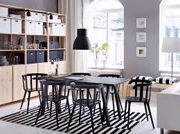 Dining Room Ideas Ikea With Nifty Furniture Regard To Minimalist Table Armchairs