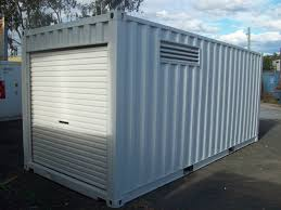 100 Metal Shipping Containers For Sale 20ft Bunded DG Workshop