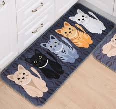 Cat Floor Mat And Like OMG Get Some Yourself Pawtastic Adorable Apparel