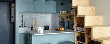 kleine räume ideen für küchen mit wenig platz ad