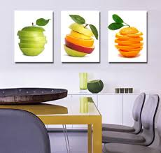 Wondrous Kitchen Fruit Decor 36 Ceramic Piece Canvas Prints Set Full Size