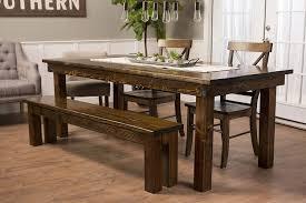 Amazon.com - JAMES + JAMES Solid Wood Farmhouse Dining Table (120