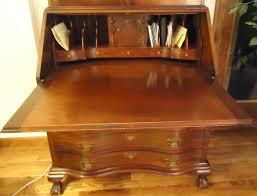 Drop Front Secretary Desk Antique by Maddox Secretary Desk Collectors Weekly