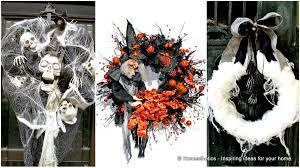 Grandin Road Halloween Wreath by 100 Halloween Wreath Endearing Halloween Outdoor Home