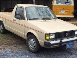 100 Rabbit Truck 1982 VW For Sale Volkswagen Caddy Pickup Classifieds