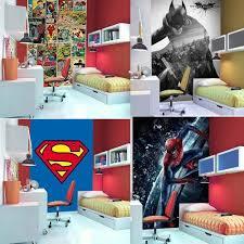 Superhero Bedroom Decor Uk by Wallpaper Mural Photo Wall Deco Paper Poster Living Room Bed