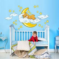 stickers ours chambre bébé stickers ourson chambre enfant petits prix de folie
